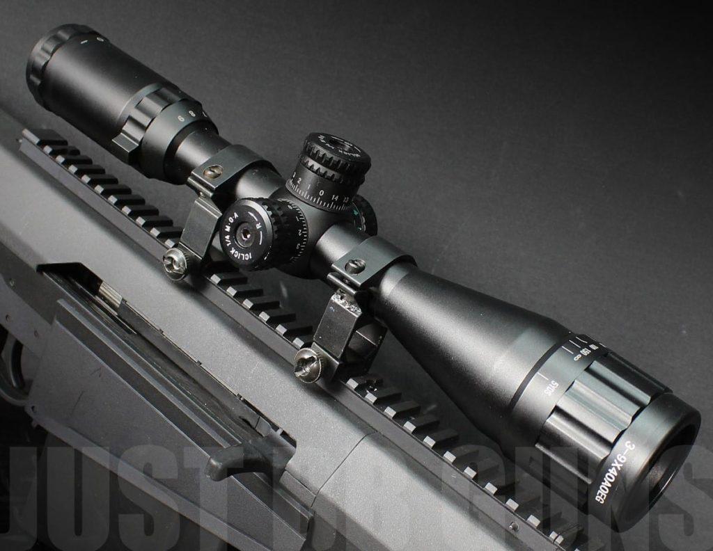 6-24x50mm Matte Mil Dot Duplex Reticle Rifle HD Glass Sight Scope W// Ring US